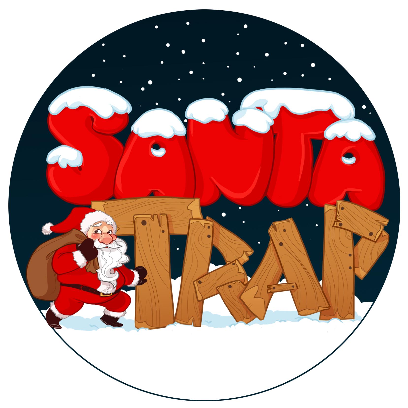 """""""Santa Trap"""" Logo"""