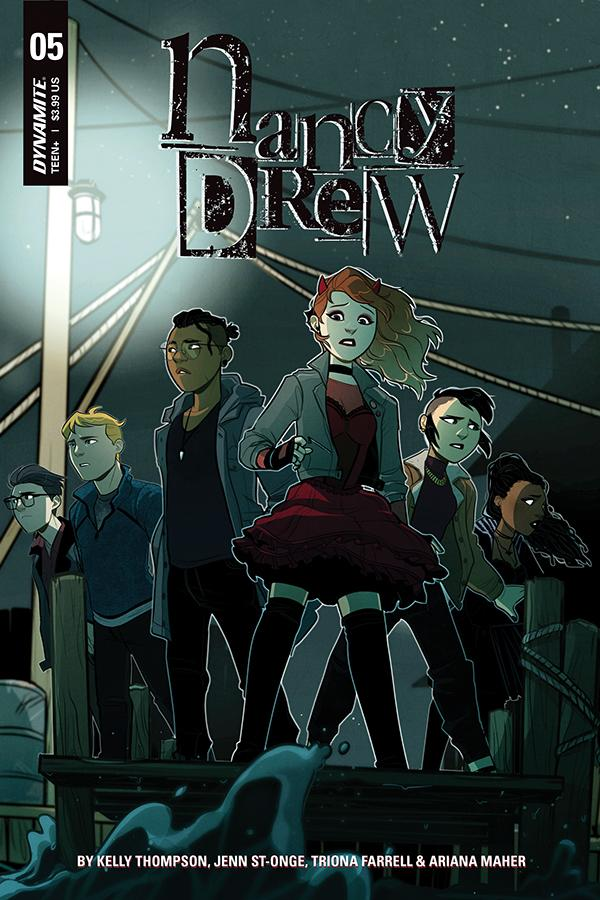 """Nancy Drew"" #5 cover art"