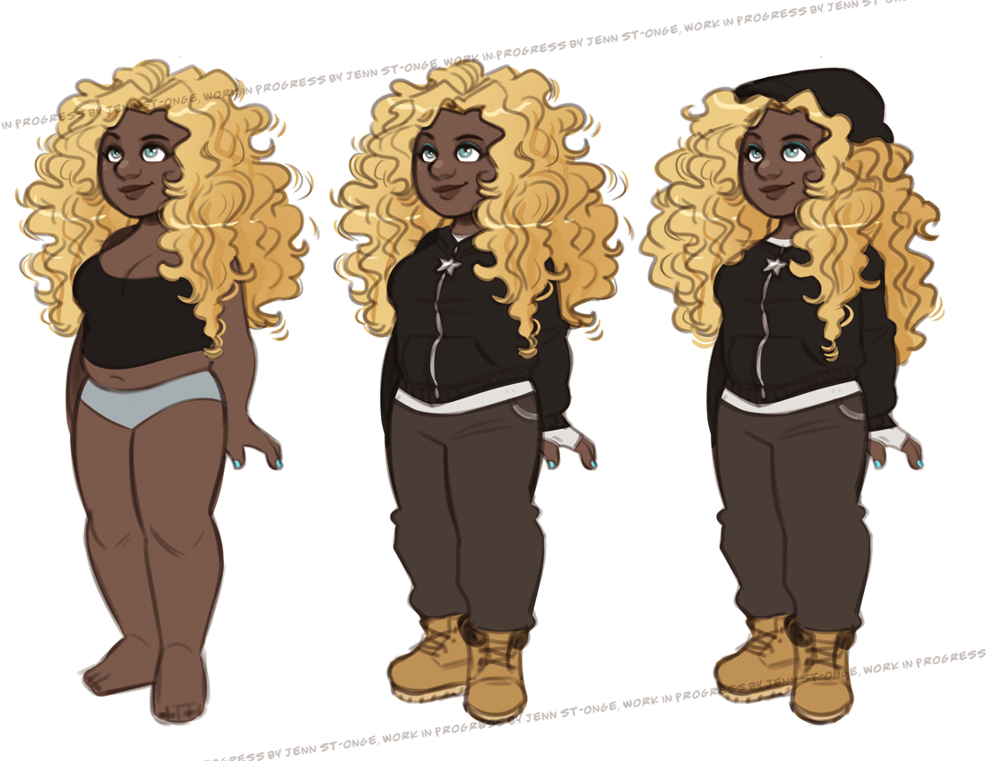 """Amira"" character test"