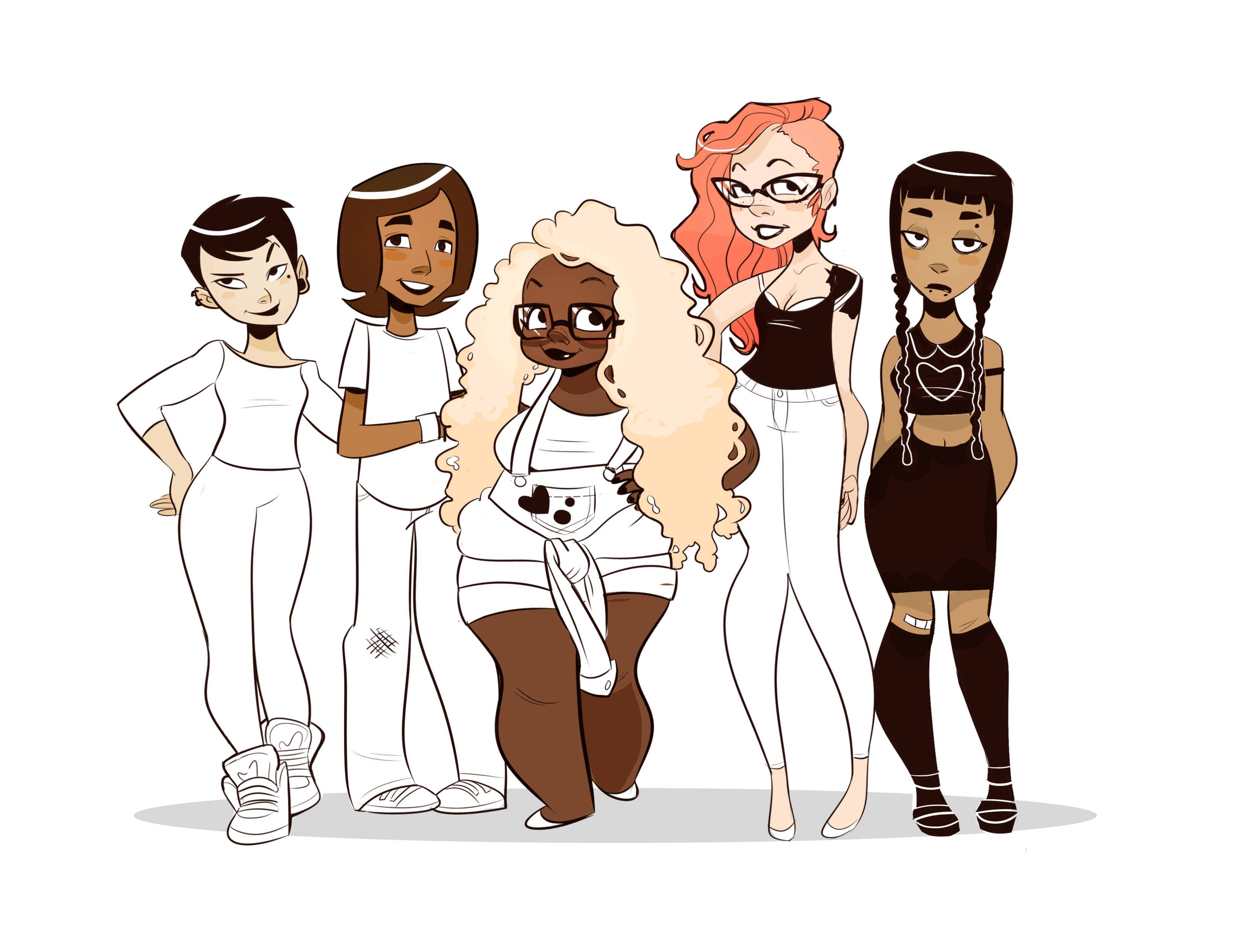"""Princess Cappuccino"" characters"