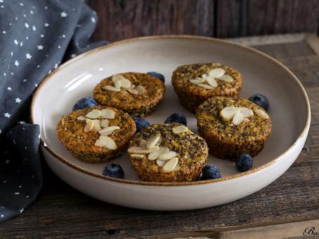 Makovo-jablečné muffiny