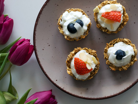 Fit košíčky s jogurtem a ovocem