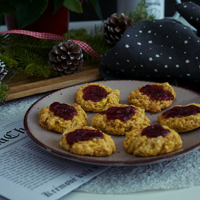 Sušenky s marmeládou