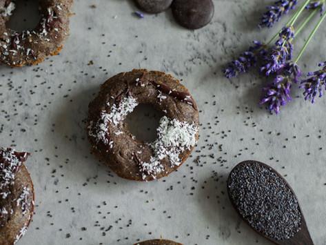 Makové donuty