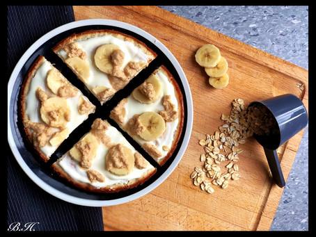 Nadýchaný banánový koláček