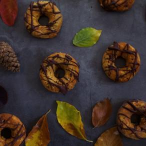 Jablečno-skořicové donuty