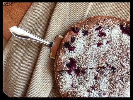 Čoko-ostružinový dortík