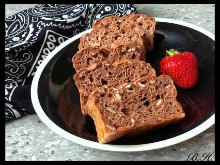 Cuketovo-čokoládový chlebíček