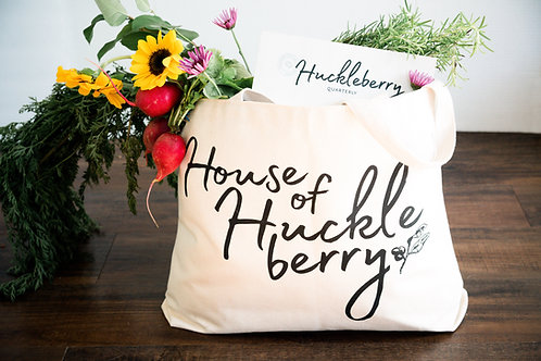 House of Huckleberry Tote