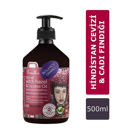 Pomellos Şampuan Witch Hazel & Coconut Oil 500 ml