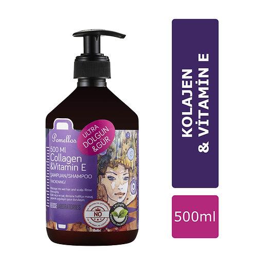 Pomellos Şampuan Collagen & Vitamin E 500 ml