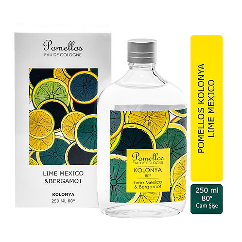 Lime Mexico & Bergamot -250ml Cam Şişe