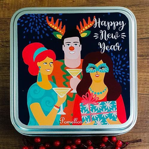 Pomellos Kolonya Greyfurt ve Sicilya Portakalı Yeni Yıl Paketi (Özel Metal Kutu