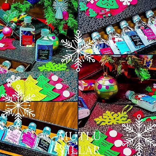 Özel Yeni Yıl Hediye Paketi (Özel Ahşap Kutu 8*50 ml)