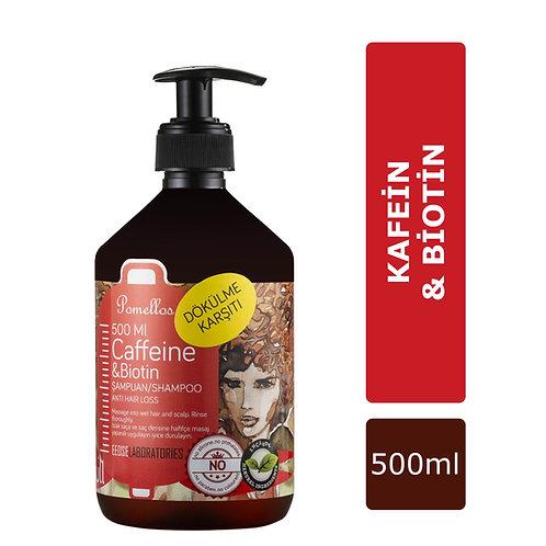 Pomellos Şampuan Caffeine & Biotin 500 ml