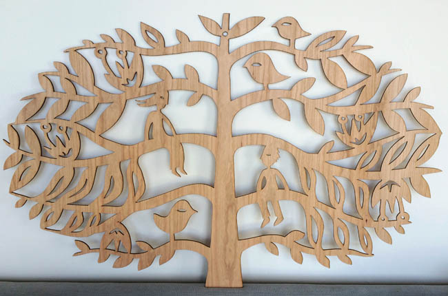 Tree of Life (cherry wood)