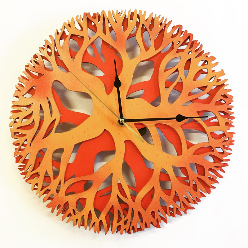 Tree Mandala clock (1)