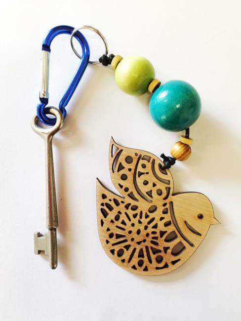 Nordic Bird keyring