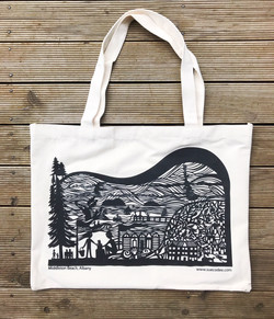 Middleton Beach Albany Canvas Tote Bag