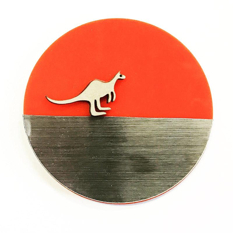 Kangaroo Brooch