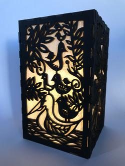 Pecking Order Light Box