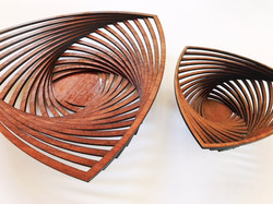 Jarrah 3 point bowls