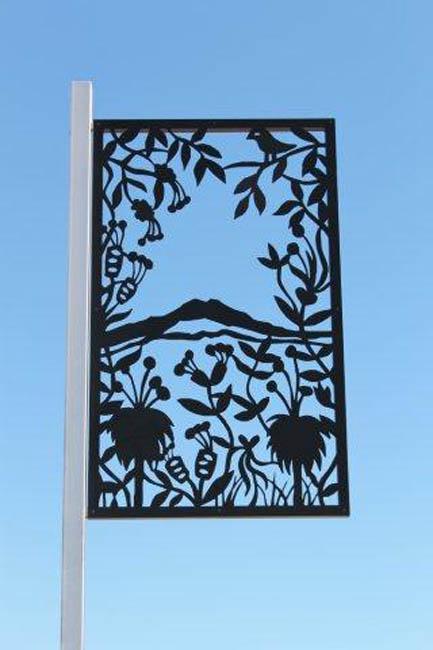 Gnowangerup Metal banner design