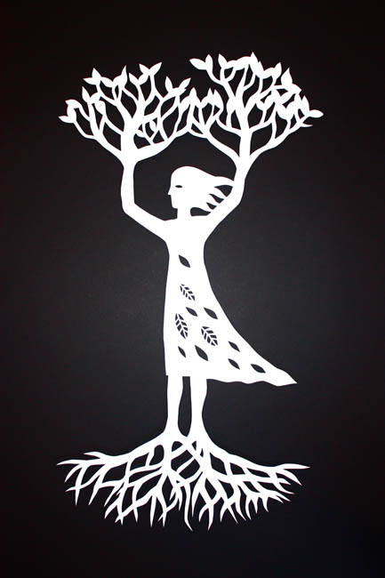 Tree Woman (white)