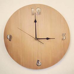 Cherry wood Clock