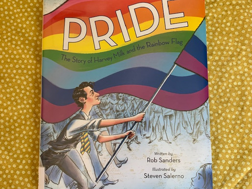 "Book Review-""Pride - The Story of Harvey Milk & the Rainbow Flag"" & its use in an art therapy group"