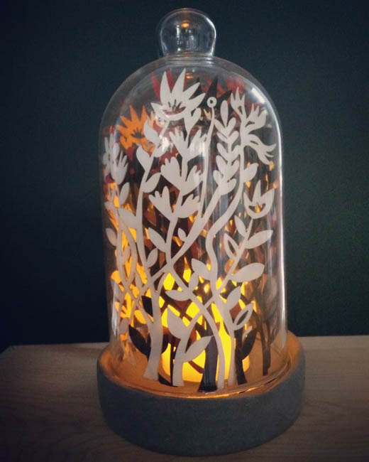 Papercut Dome Light