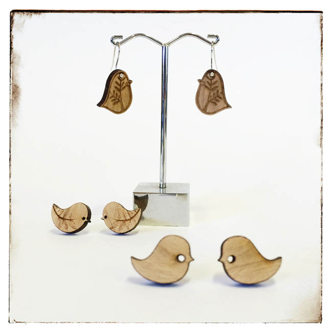 Bird earings