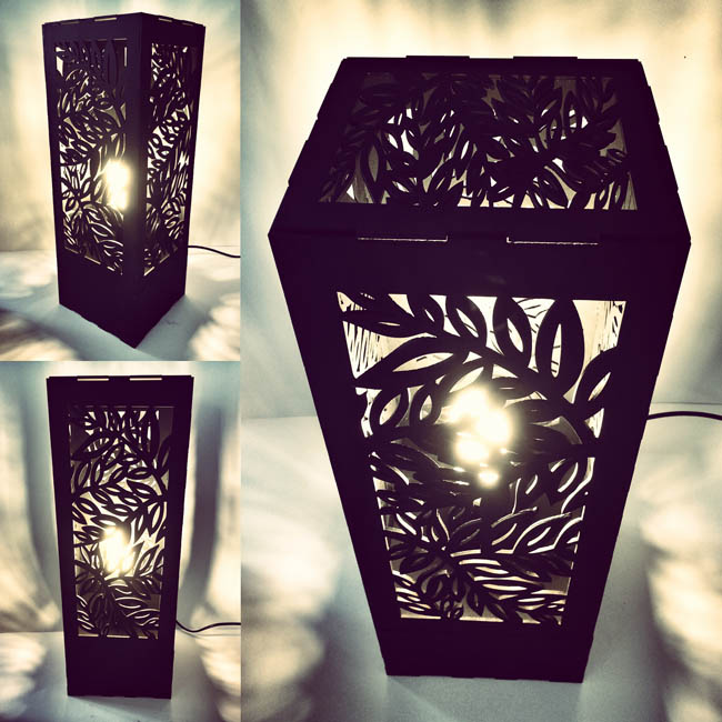 Foliage lamp black