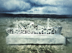 Ship of Stories, Sculpture in the Harbour Exhibition, Albany