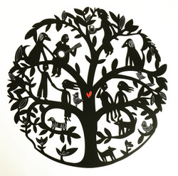 Mandala Family Tree Commission