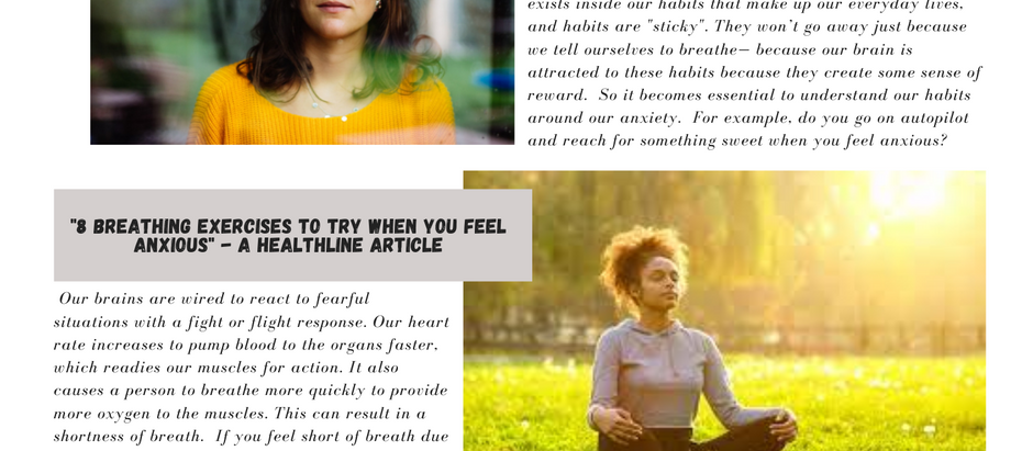 Weekend Reads - Three articles on anxiety.