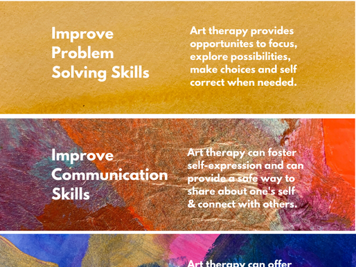 Six Benefits of Art Therapy plus more....