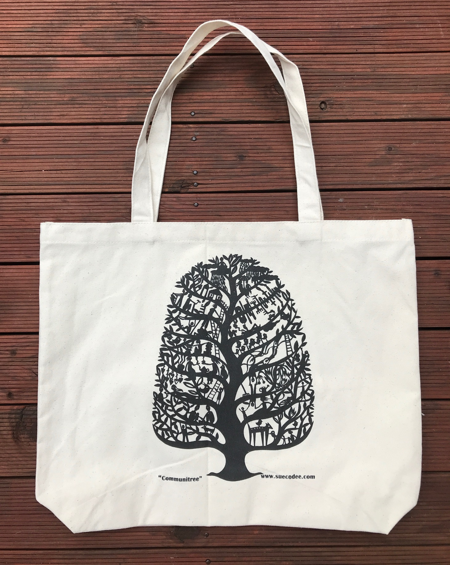 Communitree Canvas Tote Bag