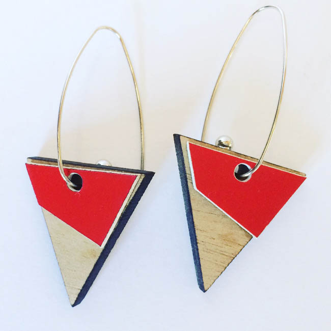 Triangle GEO earings