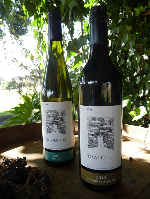 Tower Hill Wine labels