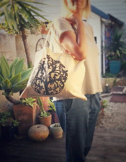 Canvas Tote Bag series