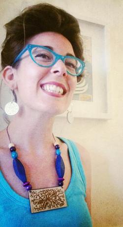 Wildflower earings and pendant