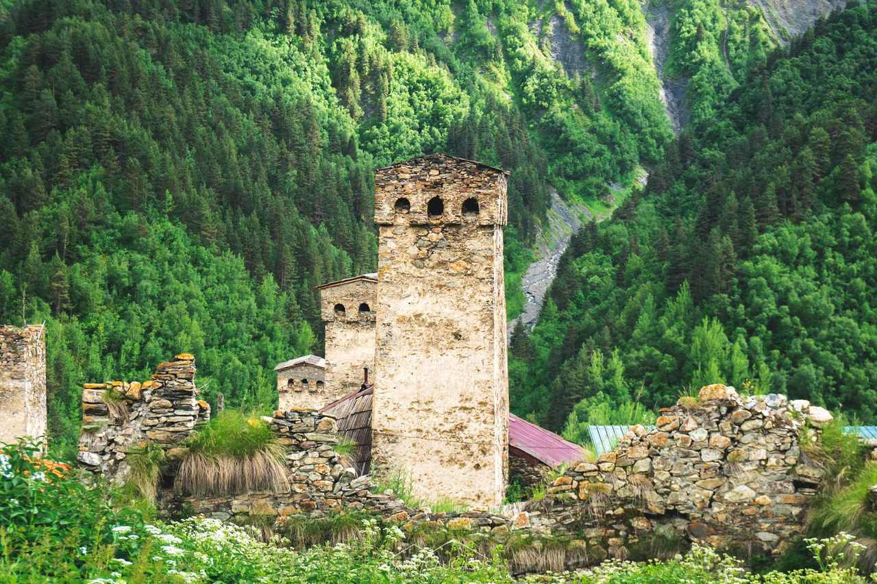 adishi svaneti hiking tour mestia ushgul
