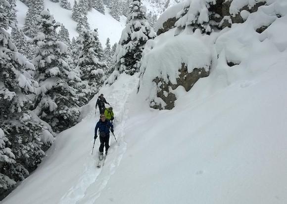 Ski touring Cappadocia Camp Caucasus (42