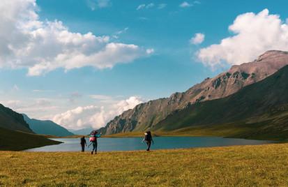 Hiking tour in Georgia Lagodekhi national park Camp Caucasus