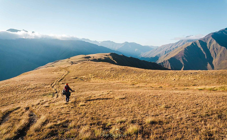 omalo-shatili trail tusheti hiking georg