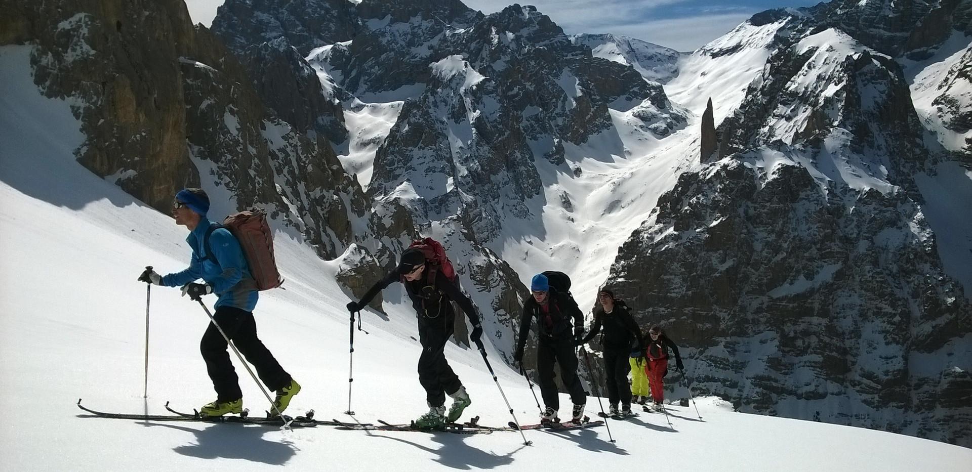 Ski touring Cappadocia Camp Caucasus (55