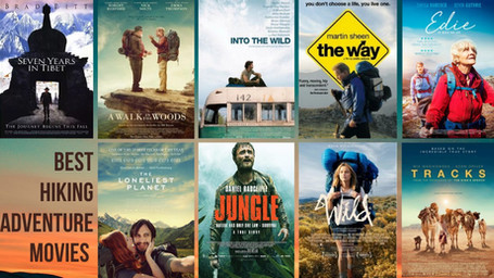 9 adventure movies about hiking
