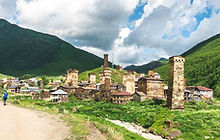 ushguli svaneti georgia hiking tour camp