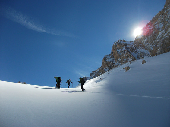 Ski touring Cappadocia Camp Caucasus (21